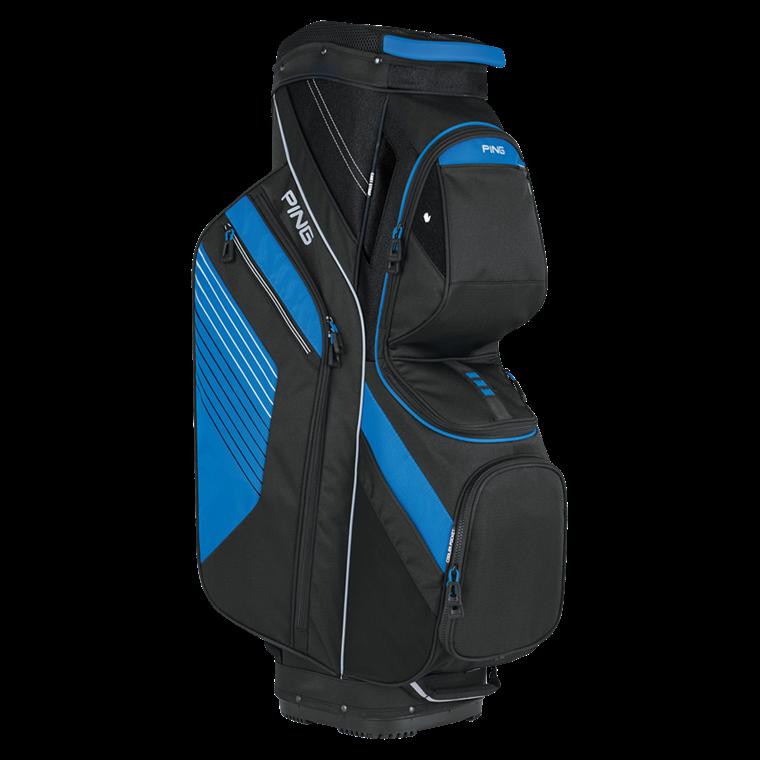 63eb615019d0 PING Traverse Cart Bag Black Blue - O Dwyers Golf Store