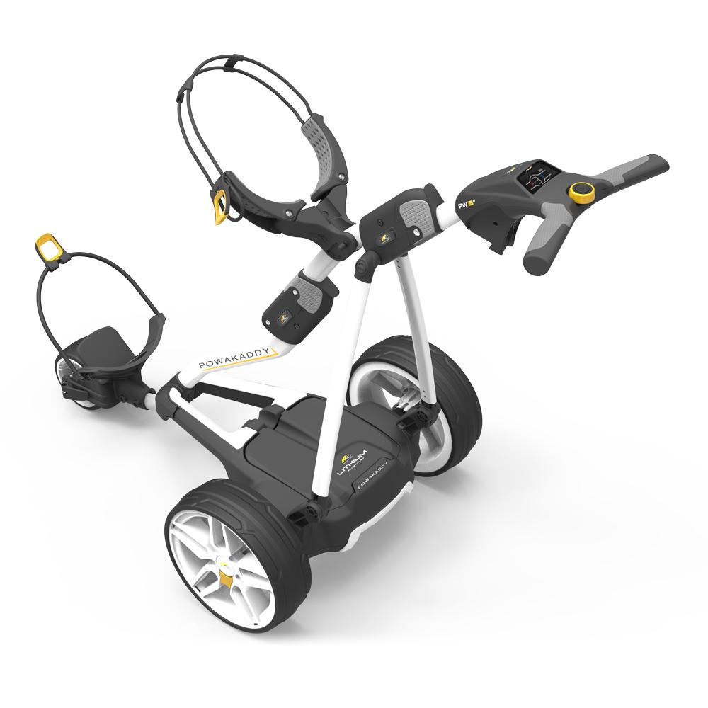 PowaKaddy FW3s Electric Golf Trolley STD Lead