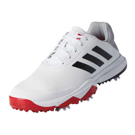 115277d7b2d ... fashion style decd0 c32dc Adidas Adipower Bounce WD golf shoes White  Black Red ...