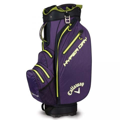 c2b4841cfdc5 Callaway Hyper Dry Cart Bag Purple
