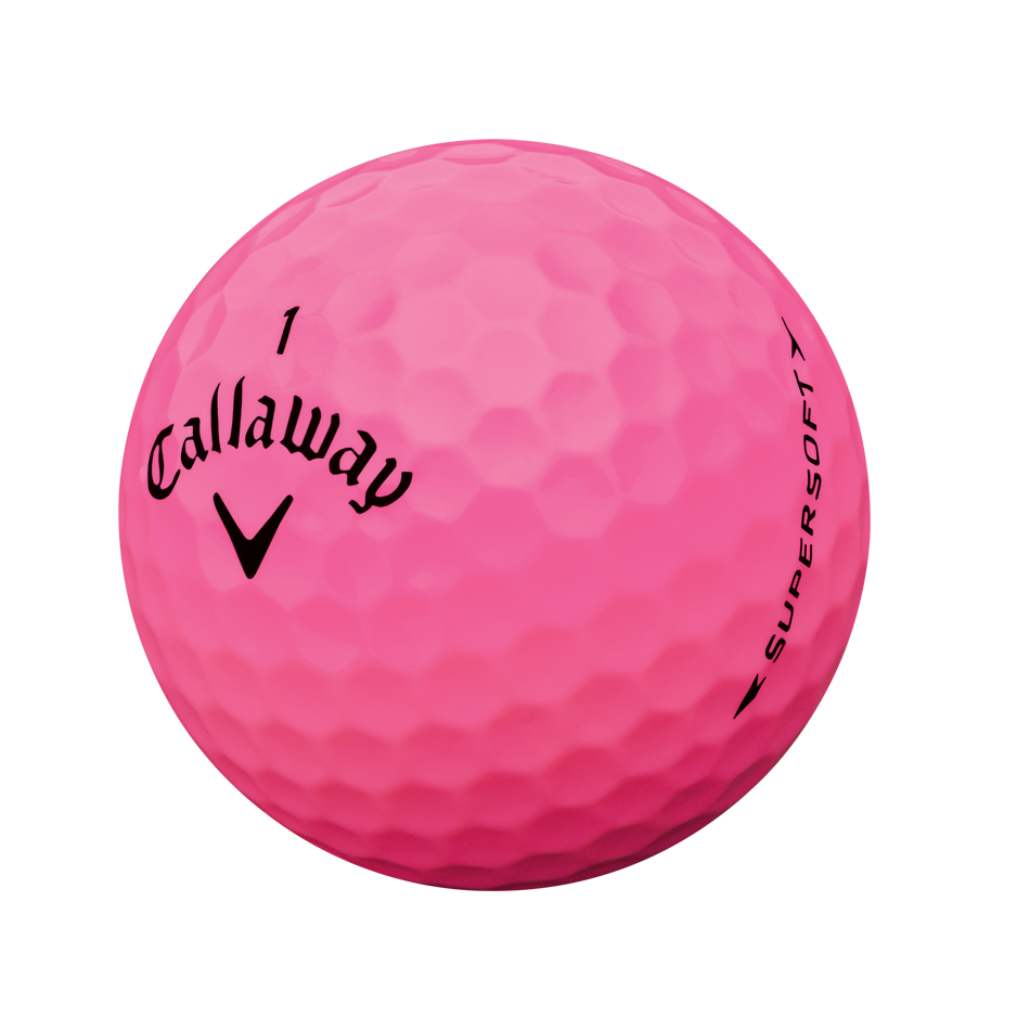 Golf: Callaway SuperSoft Ladies Golf Balls Buy 2 For €45