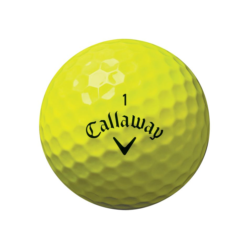 Callaway Supersoft Golf Balls Yellow Buy 2 For 45 O