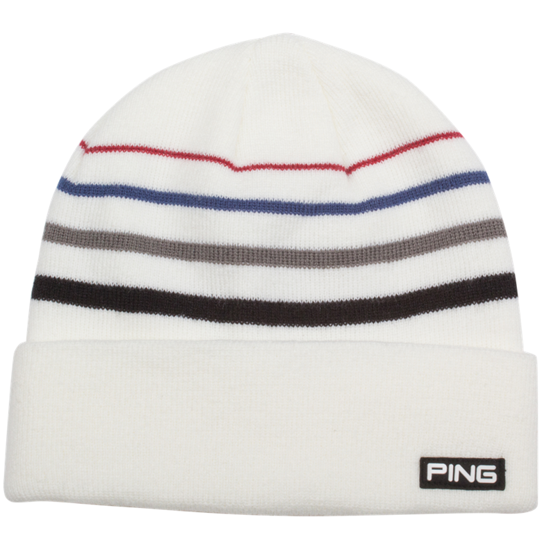 25c29f86964 Ping Coast Roll Knit Hat White - O Dwyers Golf Store