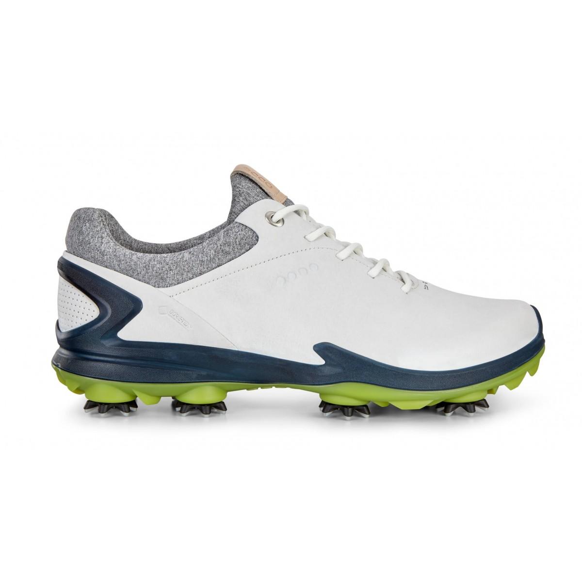e4f05341b3 ECCO Men's BIOM G3 Gore-Tex GOLF Shoes White