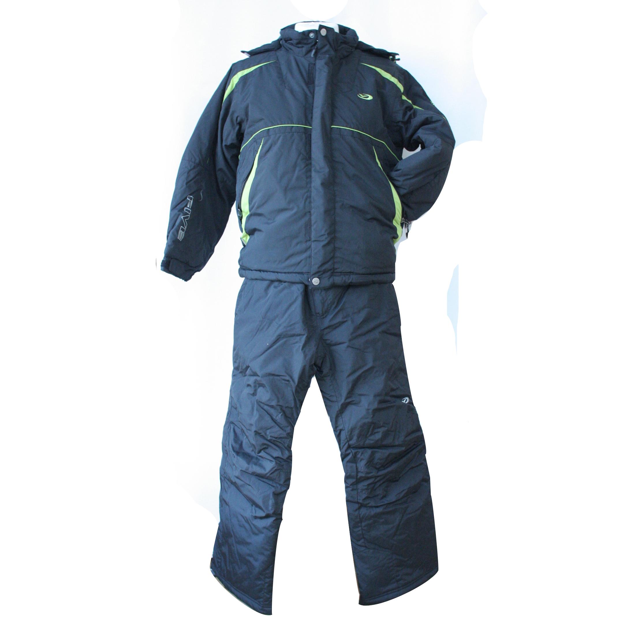 Five Season Boys Ski Suit Black - O Dwyers Golf Store 01a3a5a8e
