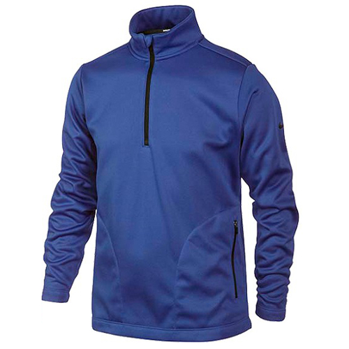 9b98e9481d94 NIKE Therma-Fit Junior 1 2 Zipped Golf Top Blue - O Dwyers Golf Store
