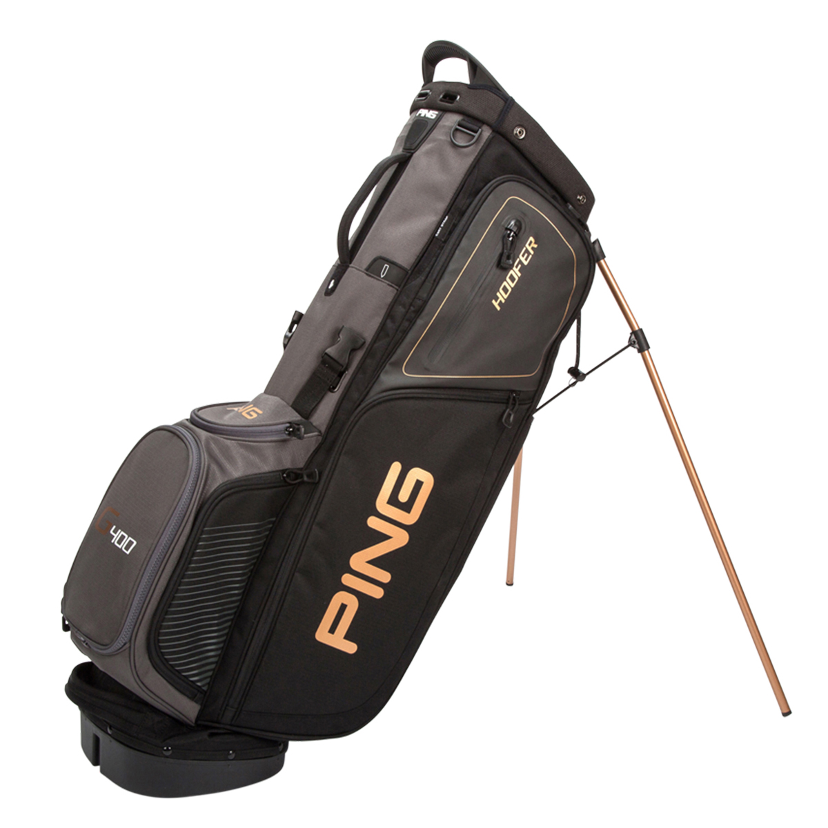 273c3a3bb0 PING Hoofer Stand Bag Black G400 - O Dwyers Golf Store