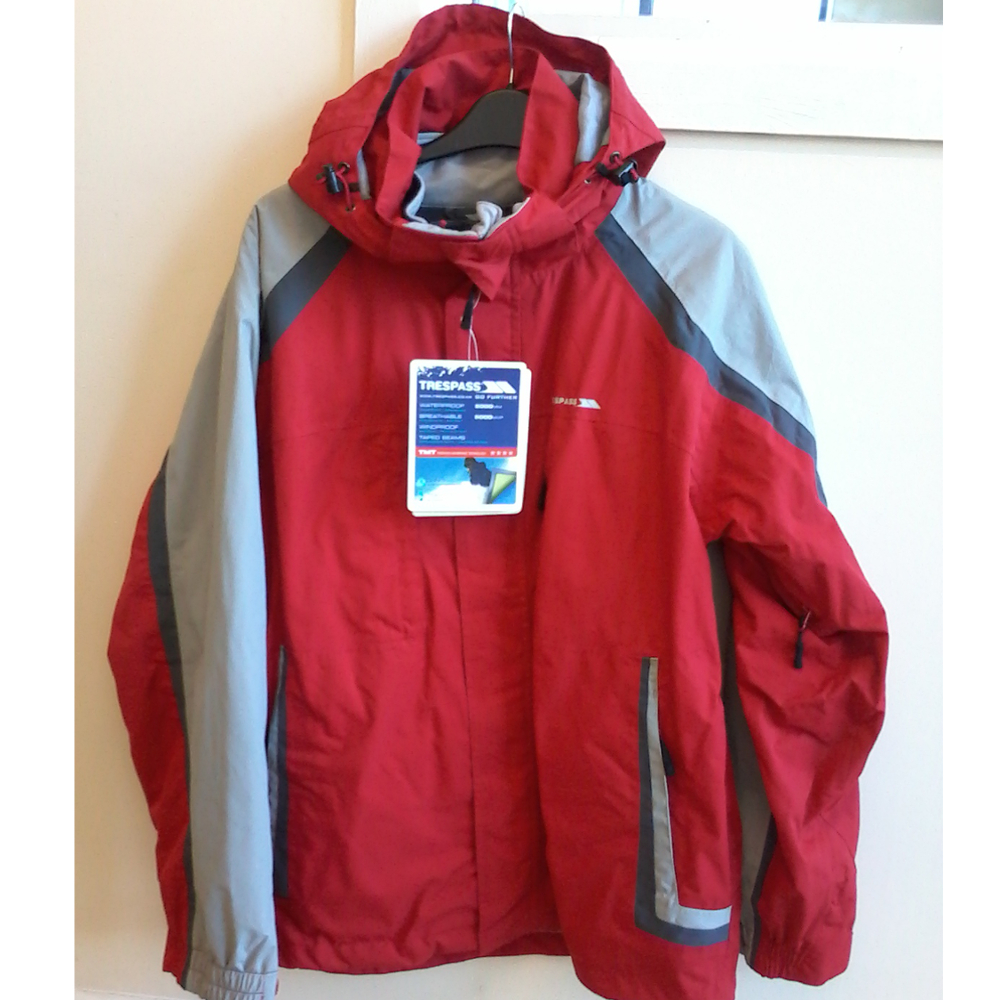 fashion design dependable performance drop shipping Trespass Mens 3 in 1 Jacket Red