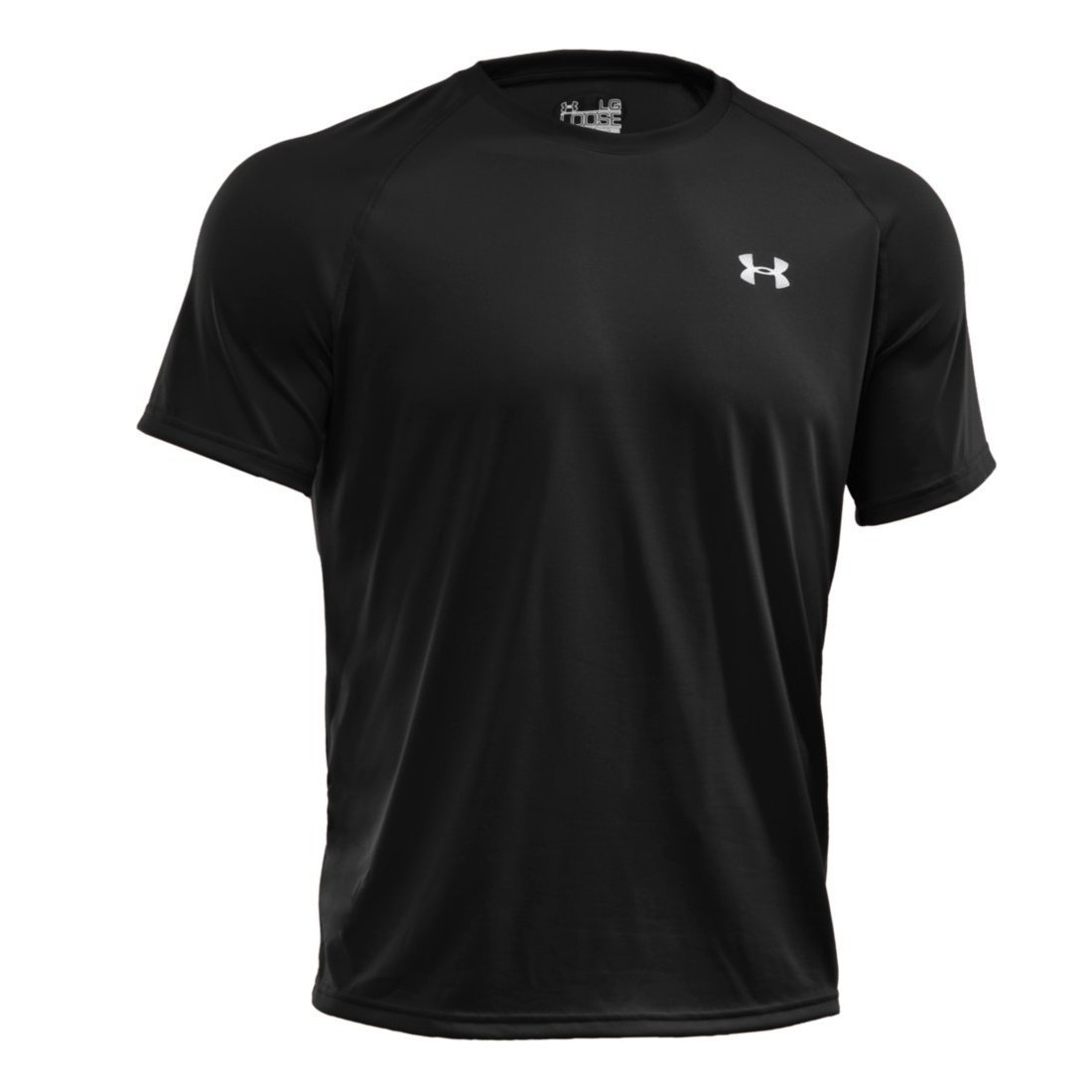 Under Armour Tech Short Sleeve Top Black O Dwyers Golf